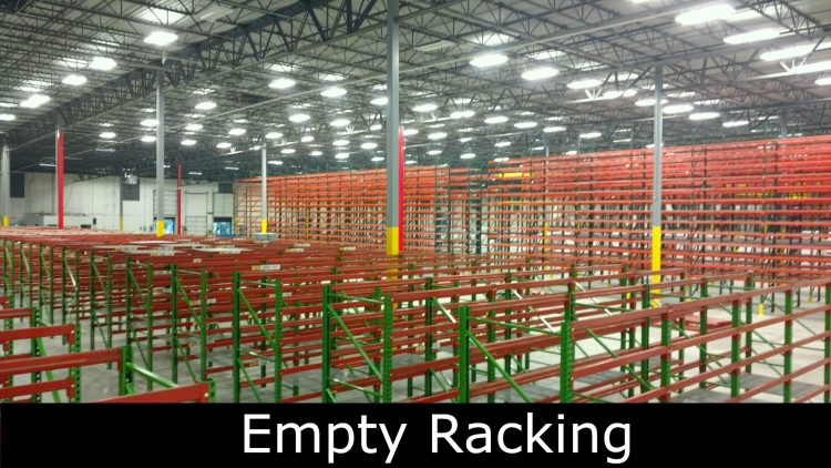 A Racking Begging for Product